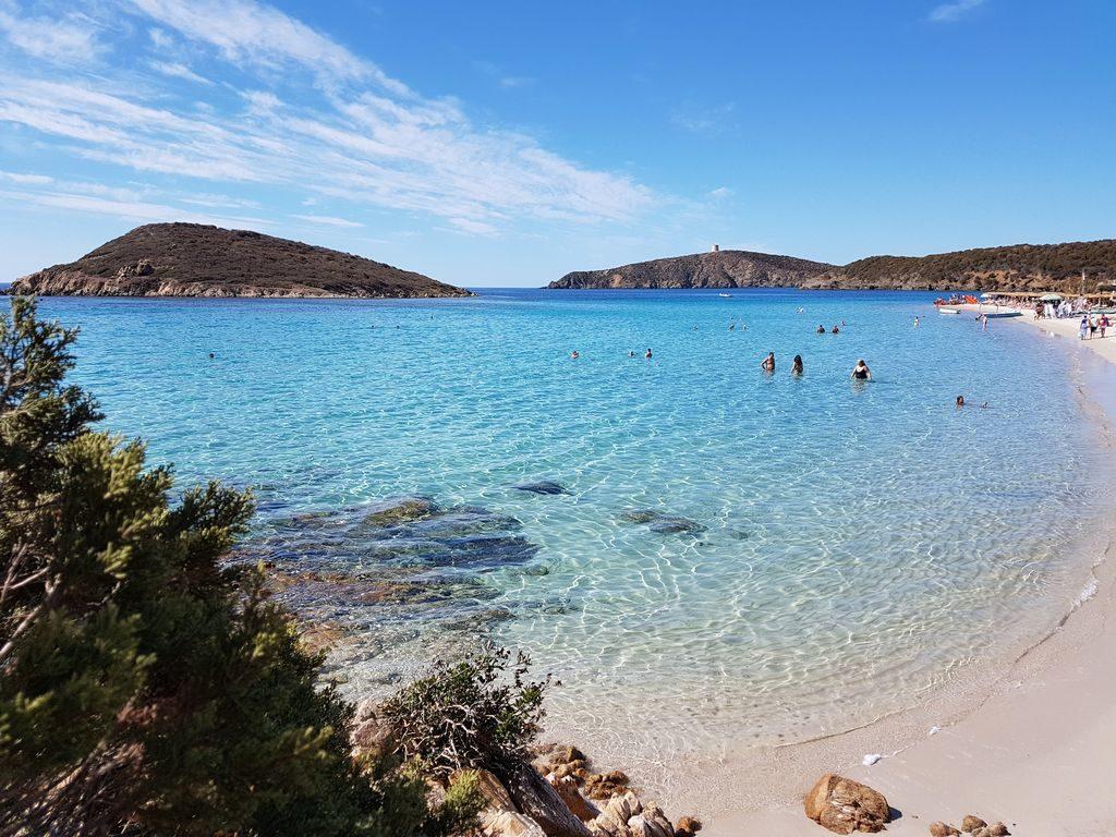Spiaggia Tuerredda Sud Sardegna