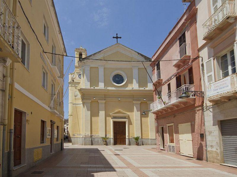 Chiesa San Carlo Borromeo Carloforte Sulcis Sardegna